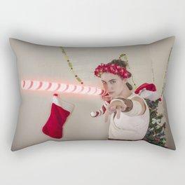 Scavenger Christmas Cosplay 5 Rectangular Pillow