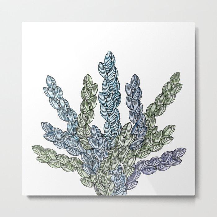 Leaf 11 Metal Print