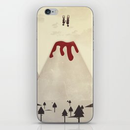 Fall With Me iPhone Skin