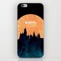 hogwarts iPhone & iPod Skins featuring Hogwarts by IA Apparel