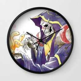 Ainz Ooal Gown OverLord Wall Clock
