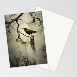 Winter Crow Stationery Cards