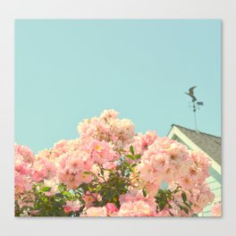 A simple kind of life Canvas Print
