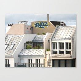 Rooftops of Paris 1 Canvas Print