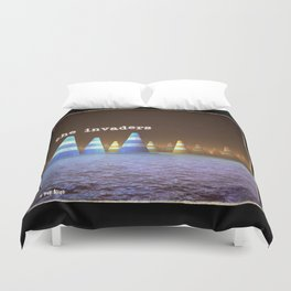 Gang of Cones  - The Invaders Duvet Cover
