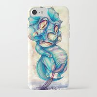 dino iPhone & iPod Cases featuring Dino by Kikillustration
