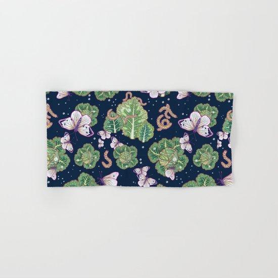 mischief in the garden Hand & Bath Towel