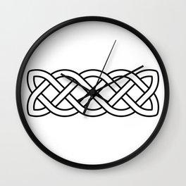 Celtic Knot Band Wall Clock