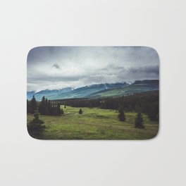 Mountain Trail - Landscape and Nature Photography Bath Mat