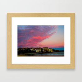 Bondi Beach Australia Framed Art Print