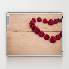 i heart you because you're sweet Laptop & iPad Skin