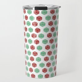 Dungeons & Dragons - Retro D20 Print Travel Mug