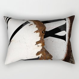 time is running out Rectangular Pillow