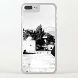 The lakefront at Galilee. Tiberias. 1945 Clear iPhone Case