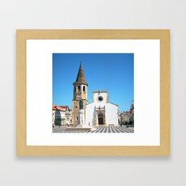 Tomar, Portugal (RR 189) Analog 6x6 odak Ektar 100 Framed Art Print