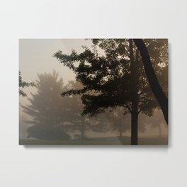Lonely Sunrise Metal Print