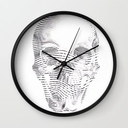 the line death Wall Clock