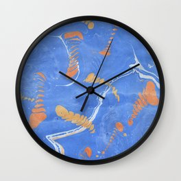 Fishbones Wall Clock