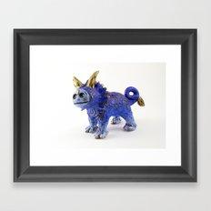 Regulus the Star Lion Framed Art Print