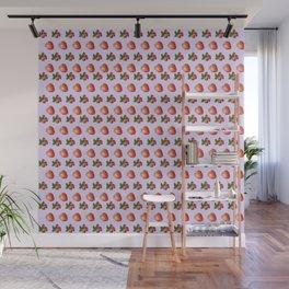 Cool strawberries Wall Mural
