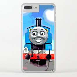 Thomas Has A Smile Clear iPhone Case