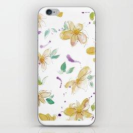 blazz studios: Spring Flowers iPhone Skin