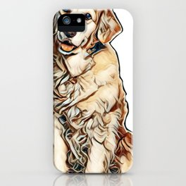 I love my dogs iPhone Case