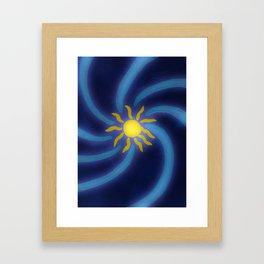 Sun Glow Framed Art Print