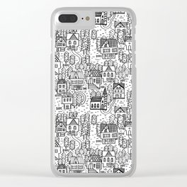 Tirol houses Clear iPhone Case
