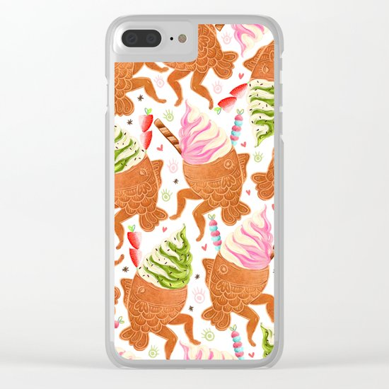 Taiyaki Mermaids Clear iPhone Case
