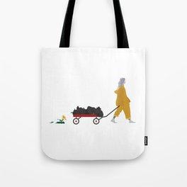 Billie Eilish Bellyache Tote Bag