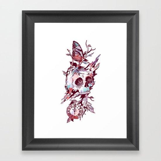 Mors et Natura 2.0 Framed Art Print