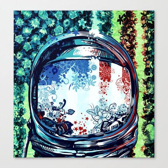pop art usa collage 3 Canvas Print