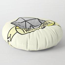 That's How I Roll D20 Floor Pillow