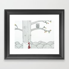 Evaluation Framed Art Print