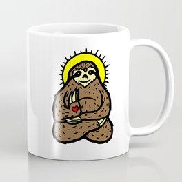 Buddha Sloth Coffee Mug