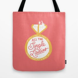 Left Hand Free Tote Bag
