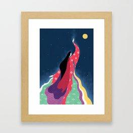 Princess Kaguya Framed Art Print