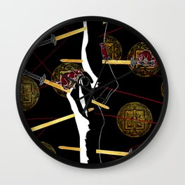 Hold Tight Wall Clock