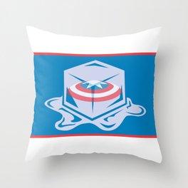 Cap'n USA Throw Pillow