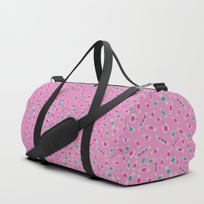 Hot Pink Candy Duffle Bag