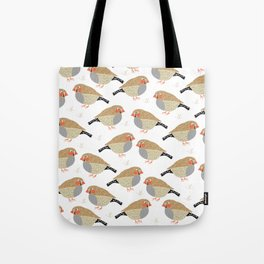 The finches Tote Bag