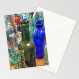 Glass Bottles (2) Stationery Cards