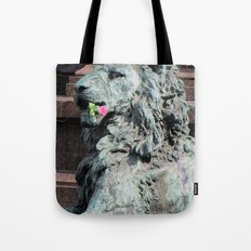 Lion in Vienna Tote Bag