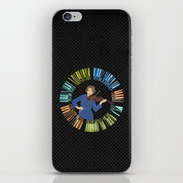 Violin Wreath iPhone Skin