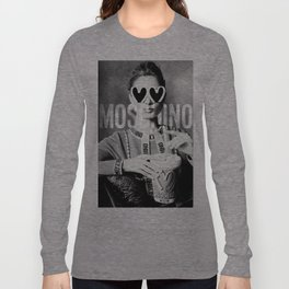 Moschino Glasses Long Sleeve T-shirt