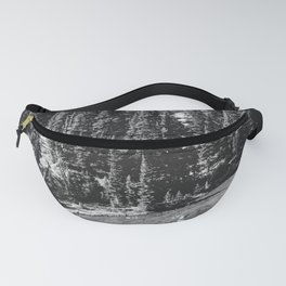Mount Rainier Forest Lake Reflection Fanny Pack