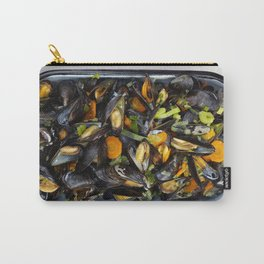 Cooked mussels Carry-All Pouch