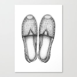 Summer Espadrilles Canvas Print