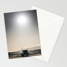 Venice Beach California Guard Tower Stationery Cards